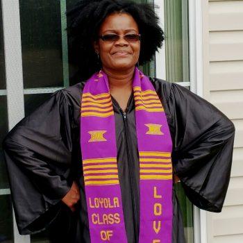 LOYOLA Graduation Kente Stole