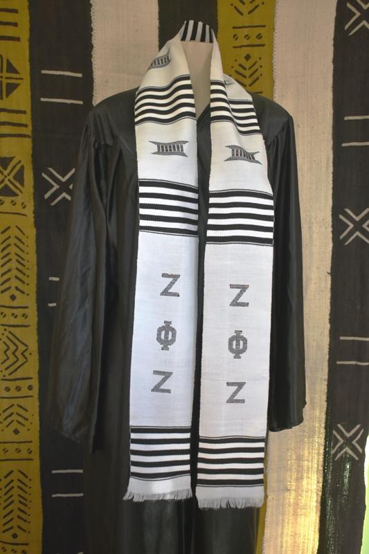 Zeta Phi Zeta Kente Stoles