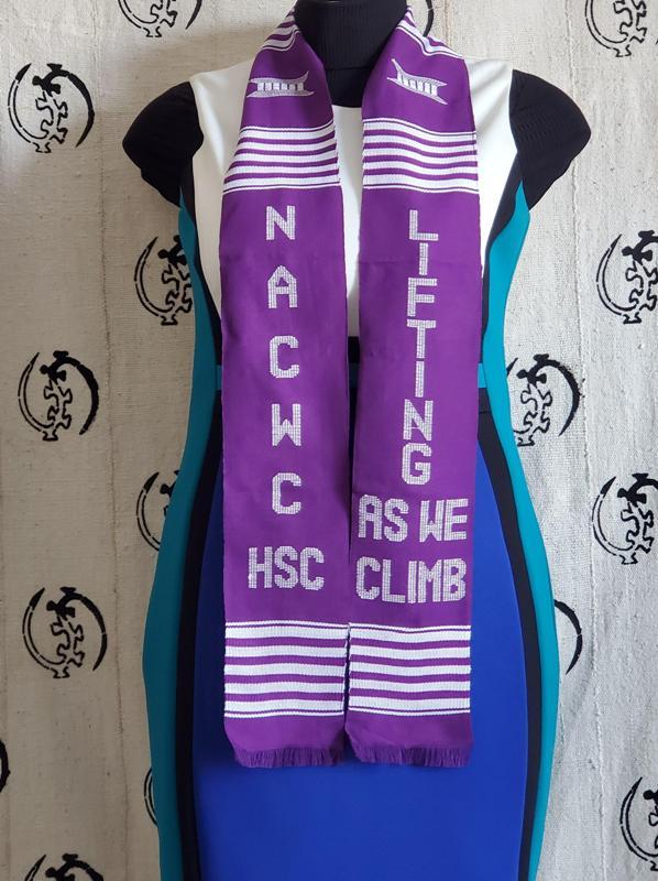 NACWC-HSC Purple Kente
